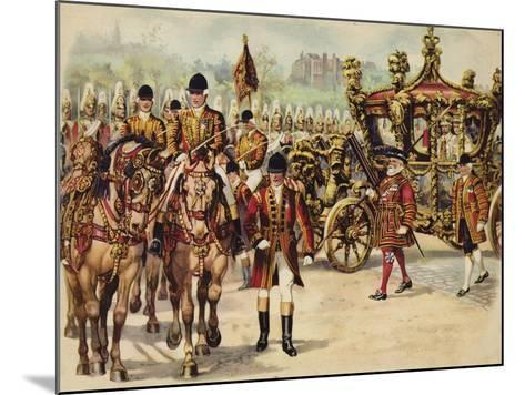 Coronation Procession of King George V, 22 June 1911-Henry Payne-Mounted Giclee Print