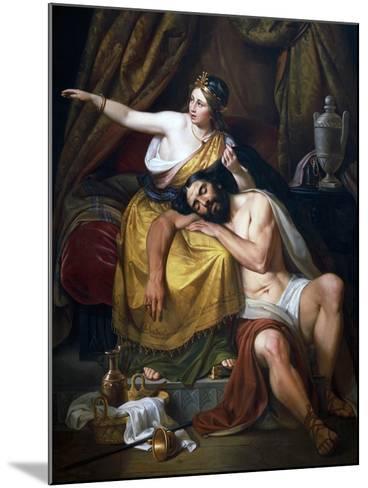 Samson and Delilah, 1851-Jose Salome Pina-Mounted Giclee Print