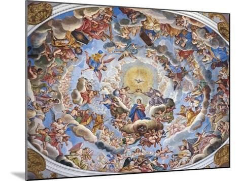 Coronation of the Virgin-Giuseppe Mattia Borgnis-Mounted Giclee Print