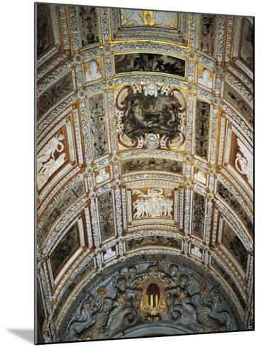 Ceiling of Golden Staircase at Doge's Palace-Jacopo Sansovino-Mounted Giclee Print