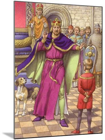 A Young Boy Was Employed to Tell King Henry That His Son Was Dead-Pat Nicolle-Mounted Giclee Print