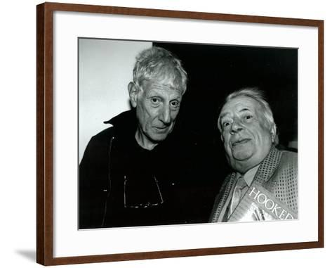 Jonathan Miller and George Melly, Mayor Gallery, 2004--Framed Art Print