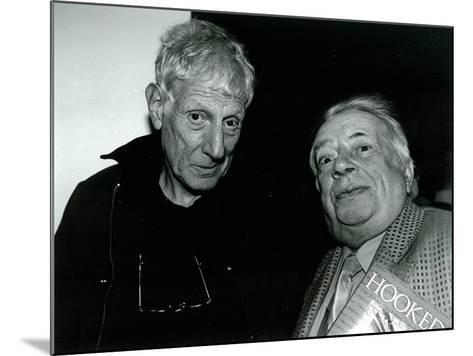 Jonathan Miller and George Melly, Mayor Gallery, 2004--Mounted Giclee Print