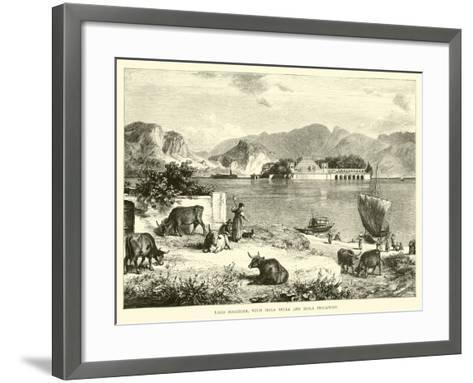 Lago Maggiore, with Isola Bella and Isola Pescatore--Framed Art Print