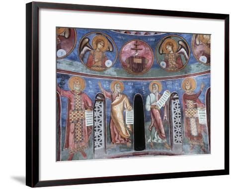 Prophets David, Isaiah, Jeremiah and Solomon, 1192--Framed Art Print