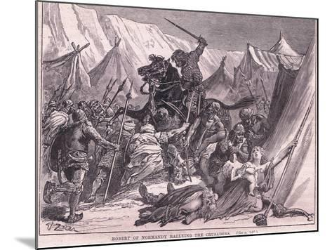 Robert of Normandy Rallying the Crusad Ers Ad 1097-Francois Edouard Zier-Mounted Giclee Print
