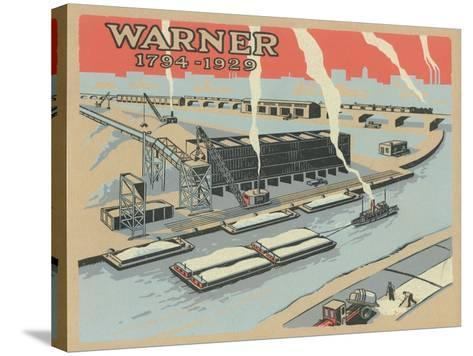 Warner 1794-1929', Advertisement for Warner Company, 1929--Stretched Canvas Print