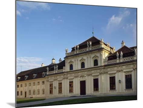 Austria, Vienna, Belvedere, Lower Belvedere, 1714-1716--Mounted Giclee Print