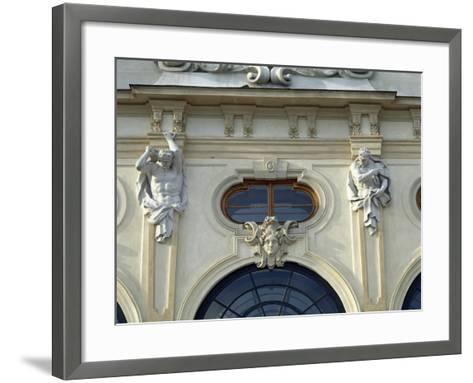 Austria, Vienna, Belvedere, Upper Belvedere 1717-1723--Framed Art Print
