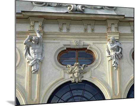 Austria, Vienna, Belvedere, Upper Belvedere 1717-1723--Mounted Giclee Print