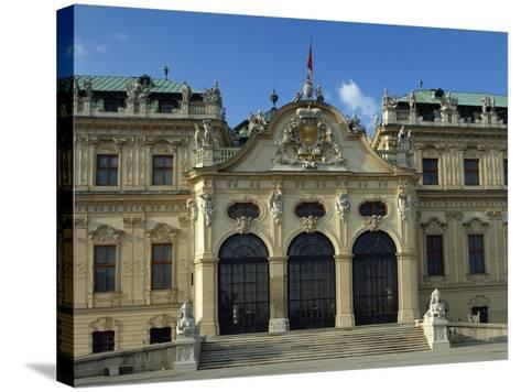 Austria, Vienna, Belvedere, Upper Belvedere 1717-1723--Stretched Canvas Print