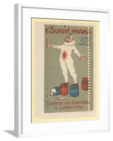 F Slaby Chocolate and Sugar Confectionery Factory, Prague--Framed Art Print