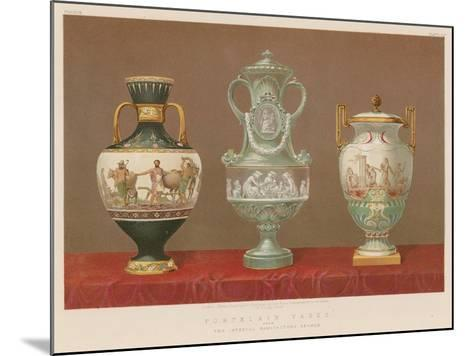 Porcelain Vases from the Imperial Manufactory, Sevres--Mounted Giclee Print
