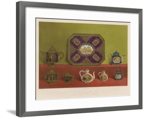 Porcelain from the Imperial Manufactory, St Petersburg--Framed Art Print