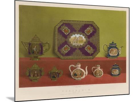 Porcelain from the Imperial Manufactory, St Petersburg--Mounted Giclee Print