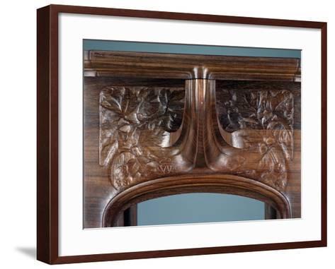 Art Nouveau Style Three-Tier Pedestal Table, Ca 1910-Eugene Vallin-Framed Art Print