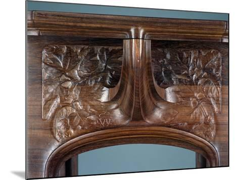 Art Nouveau Style Three-Tier Pedestal Table, Ca 1910-Eugene Vallin-Mounted Giclee Print