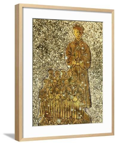 Memorial to Roger and Cecilia Felthorpe and Family, 1454--Framed Art Print