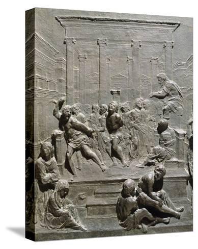 Flagellation of Christ-Francesco di Giorgio Martini -Stretched Canvas Print