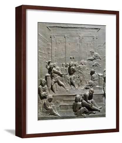 Flagellation of Christ-Francesco di Giorgio Martini -Framed Art Print