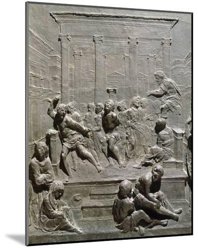 Flagellation of Christ-Francesco di Giorgio Martini -Mounted Giclee Print