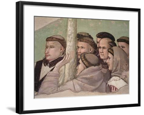 Detail from 'Vision of the Ascension of St. Francis, Bardi Chapel-Giotto di Bondone-Framed Art Print
