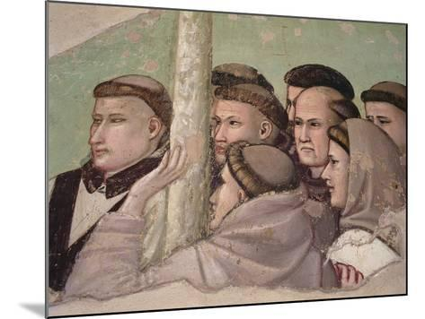 Detail from 'Vision of the Ascension of St. Francis, Bardi Chapel-Giotto di Bondone-Mounted Giclee Print