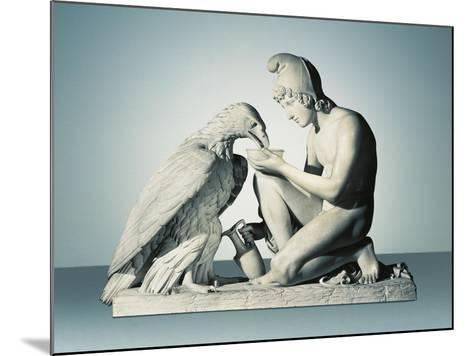 Ganymede with Eagle of Zeus-Bertel Thorvaldsen-Mounted Giclee Print