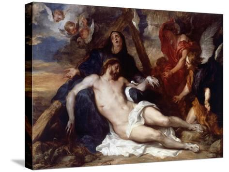 The Lamentation of Christ, 1634-Sir Anthony Van Dyck-Stretched Canvas Print