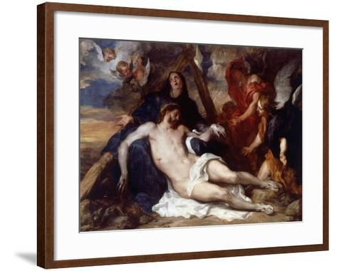 The Lamentation of Christ, 1634-Sir Anthony Van Dyck-Framed Art Print