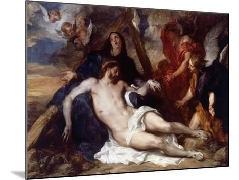 The Lamentation of Christ, 1634-Sir Anthony Van Dyck-Mounted Giclee Print