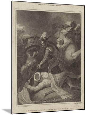 Sir Thomas Arundell Taking the Standard of the Turks-Robert Smirke-Mounted Giclee Print