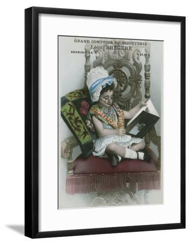Grand Comptoir De Bijouterie, Leon Bregere, Bordeaux, Vichy--Framed Art Print