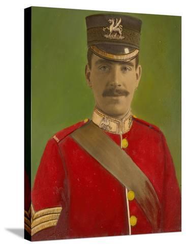 Portrait of Acting Corporal William Reginald Cotter VC--Stretched Canvas Print
