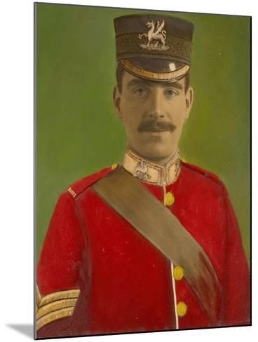Portrait of Acting Corporal William Reginald Cotter VC--Mounted Giclee Print
