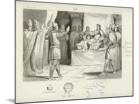 Louis I, King of the Franks and Holy Roman Emperor--Mounted Giclee Print