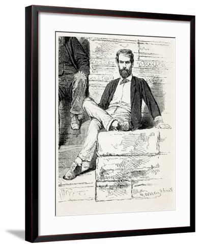 M. Doudart De Lagree, French Expedition to Me-Kong, 1868--Framed Art Print