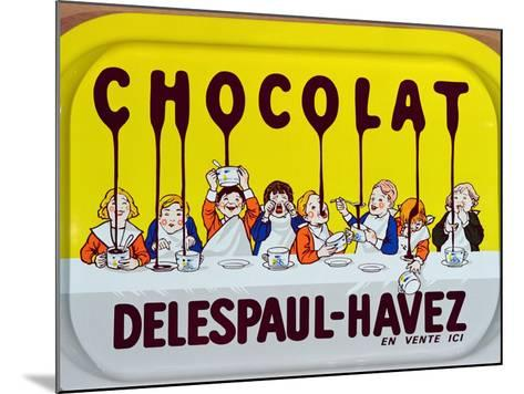 Coffee Tray Advertising 'Delespaul-Havez' Chocolate--Mounted Giclee Print