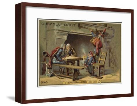 Pacification of the Vendee, French Revolution, April 1795--Framed Art Print