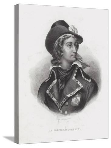 Henri De La Rochejaquelein, French Royalist General of the Vendee Revolt--Stretched Canvas Print