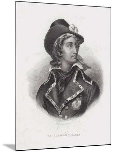 Henri De La Rochejaquelein, French Royalist General of the Vendee Revolt--Mounted Giclee Print