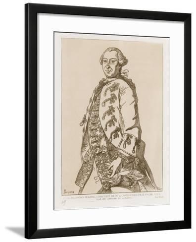 John Sigismund Pfinzing, State Councilor of the Empress of Germany, 1763--Framed Art Print