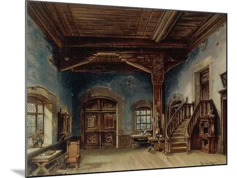 Sachs' Workshop, Scene 1 from 'Die Meistersinger', 1888--Mounted Giclee Print