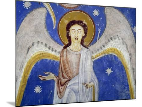 Middle Angels, Detail of Western Arm of Stone Cross--Mounted Giclee Print