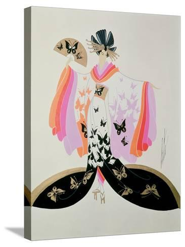 Costume Design for 'Madame Butterfly' by Puccini, 1945--Stretched Canvas Print