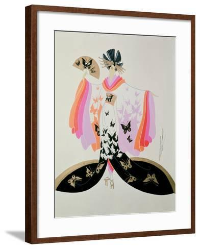 Costume Design for 'Madame Butterfly' by Puccini, 1945--Framed Art Print