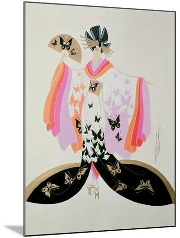 Costume Design for 'Madame Butterfly' by Puccini, 1945--Mounted Giclee Print