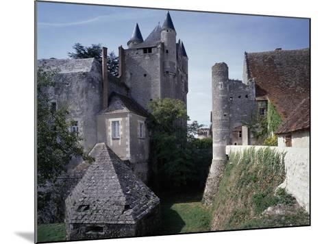 Caponiere, Defensive Position Which Rises Above Moat, Castle of Bridore--Mounted Giclee Print