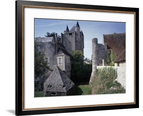 Caponiere, Defensive Position Which Rises Above Moat, Castle of Bridore--Framed Art Print