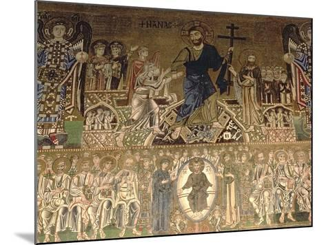 The Last Judgement, Detail of Christ Judging, 11-12th Century--Mounted Giclee Print